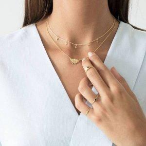 Stellar Necklace Goud