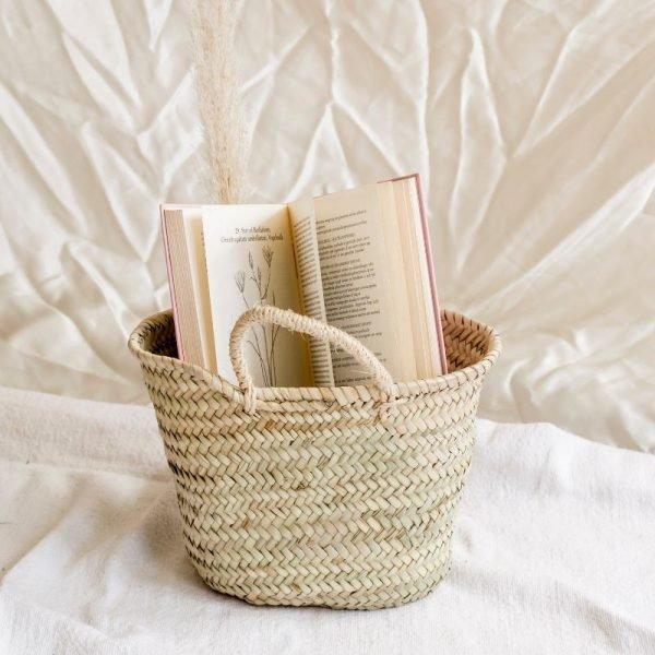 kids basket bag